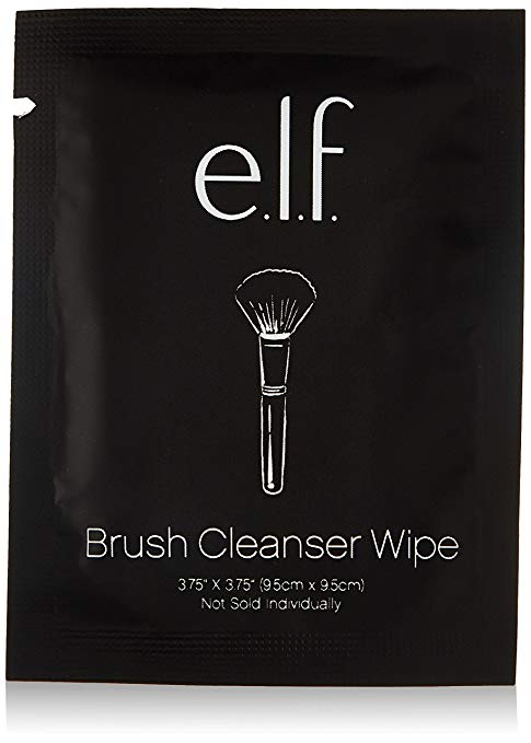e.l.f. Brush Cleaner Wipes, 10 ct