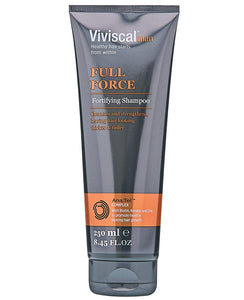 Viviscal Man Full Force Fortifying Shampoo, 8.45 oz