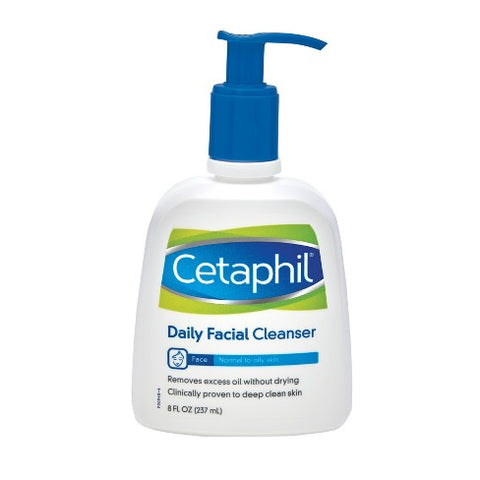 Cetaphil Daily Facial Cleanser for Normal to Oily Skin, 16.0 oz
