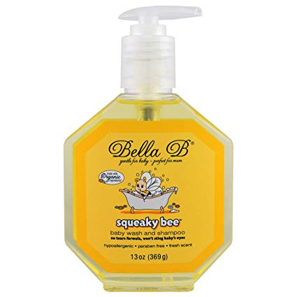 Bella B Squeaky Bee Bodywash and Shampoo, 13 oz