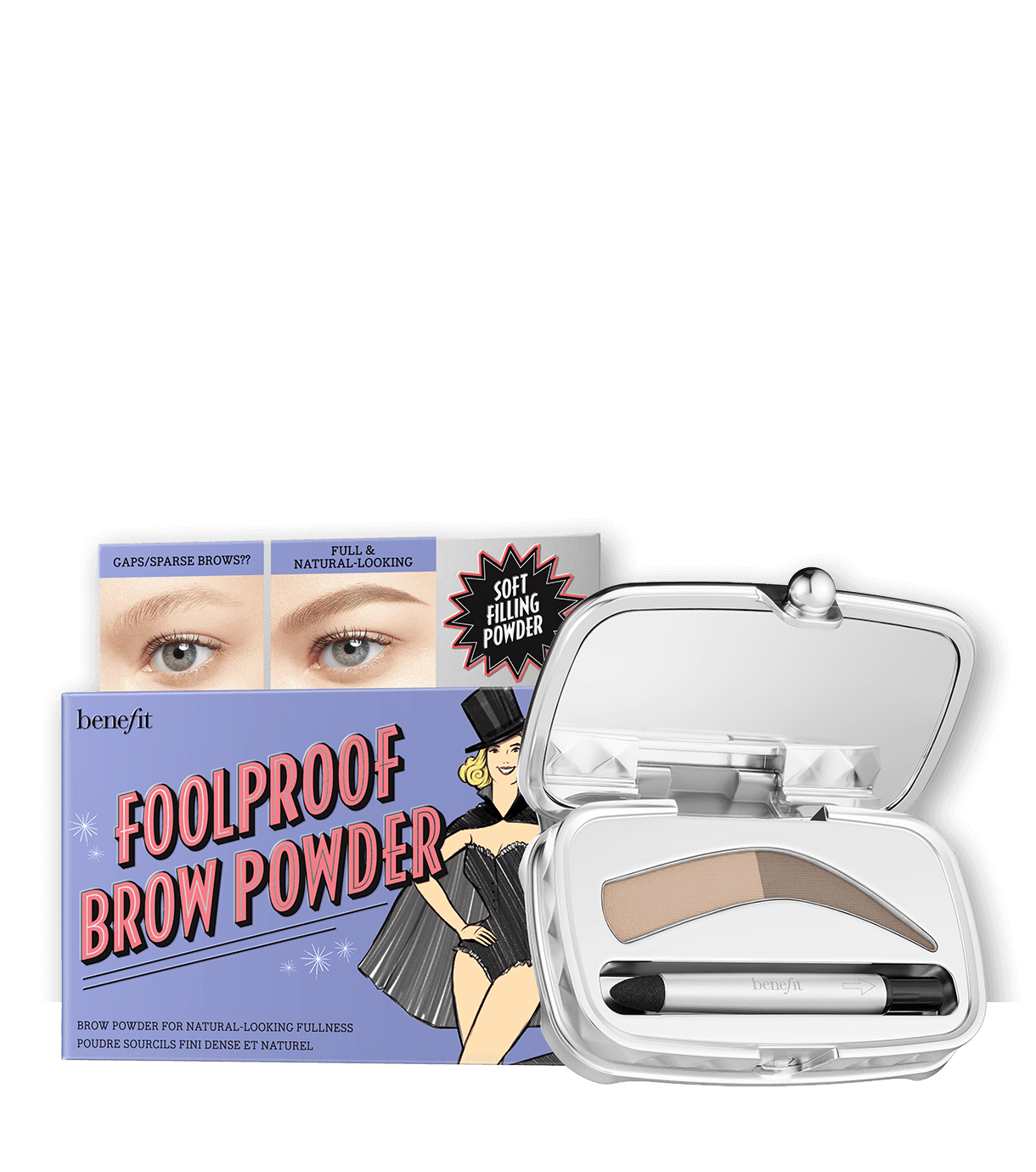 Benefit Foolproof Eyebrow Building Powder, 0.07 oz