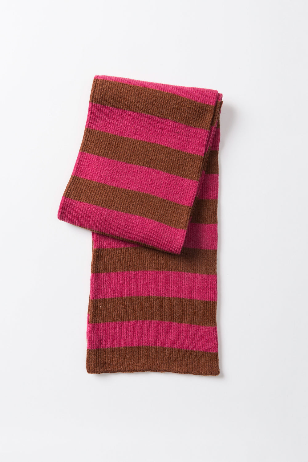 Woolly stripe scarf