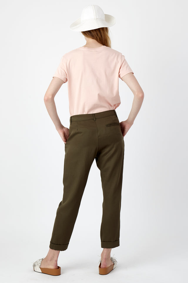 Utility cropped trouser