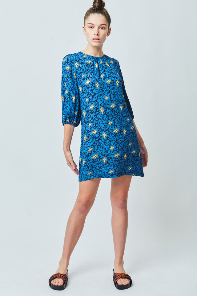 Vines shift dress