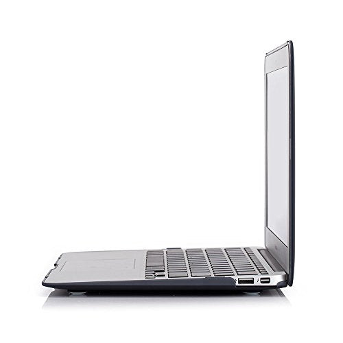 Plastic Hard Case and Keyboard Cover for MacBook Air 11 inch (Models: A1370 / A1465) - Black