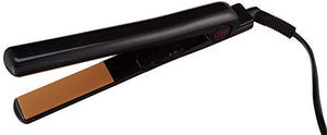 2 in 1 Hair Straightening Flat Iron (Black)
