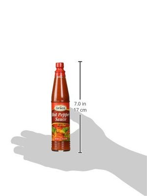 Grace Hot Pepper sauce 3oz