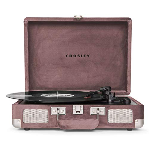 Crosley Cruiser Premium Turntable - Purple Ash Velvet (Walmart Exclusive) - CR8805A-PS