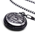 """To My Son"" Pocket Watch"