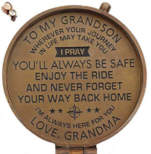 To My Grandson From Grandma Compass