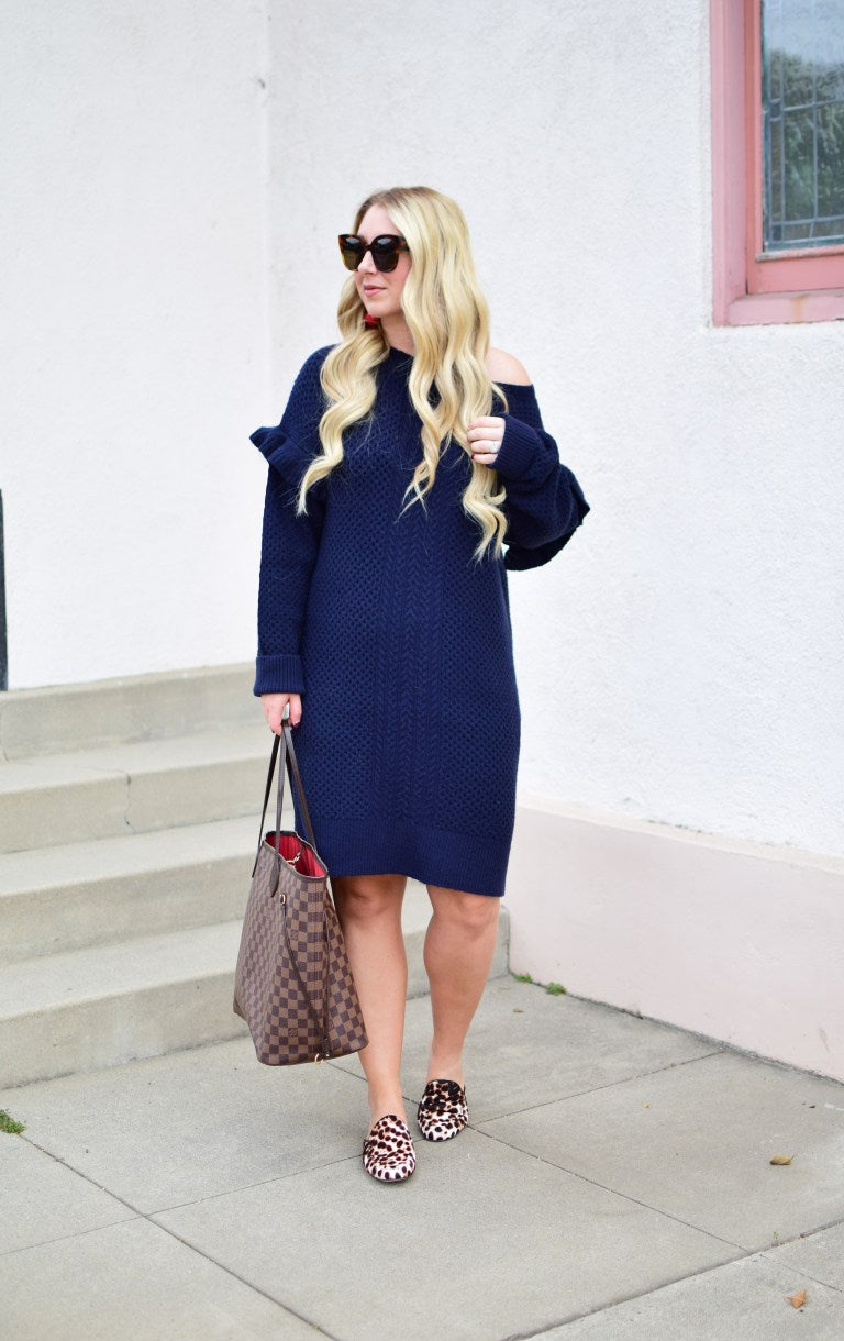 Women's Cashmere Sweater Dress