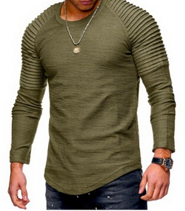 Mens Bodycon Slim Shirt