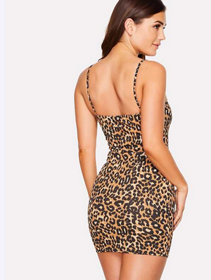 SHEIN Leopard Print Dress