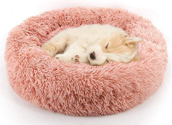 Pet Bed Fur Donut