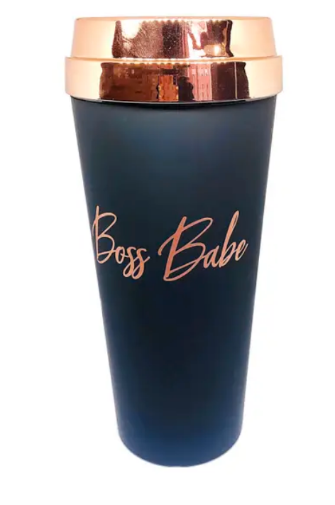 """Boss Babe"" Travel Mug"
