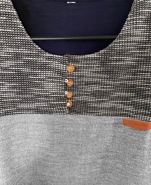 Two-Tone Men Shirt