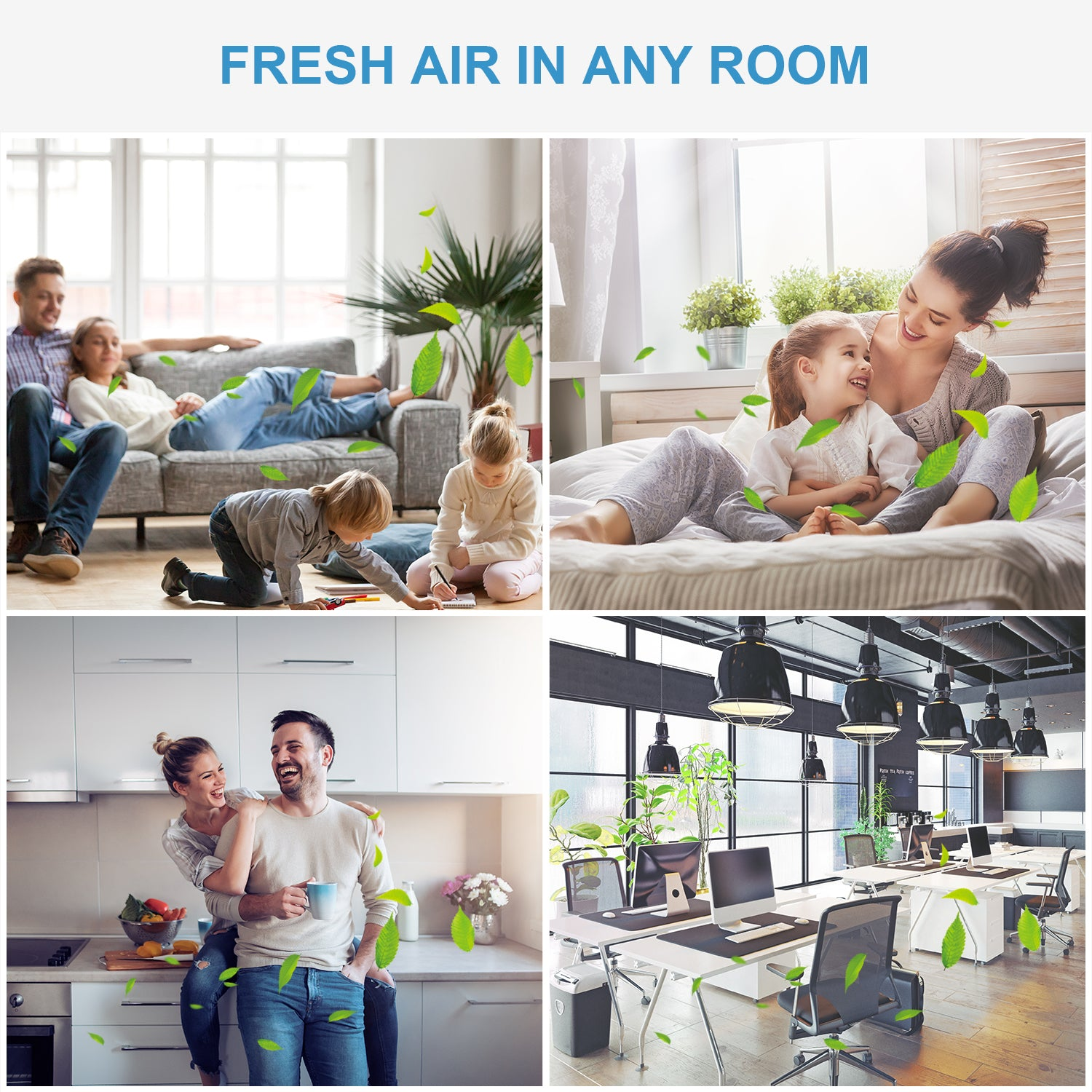 AZEUS KJ120G-C10 High CADR Air Purifier, up to 376ft2, Quiet, Ozone-Free