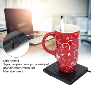 USB 10W Thermostat Heating Coffee Mug Warmer