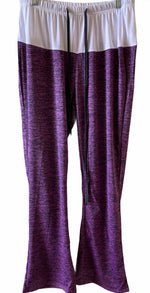 Purple Yoga Athletic Pants