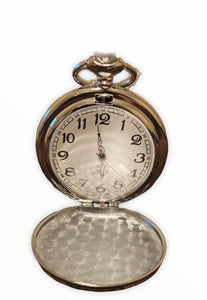 Silver Tone Pocket Watch