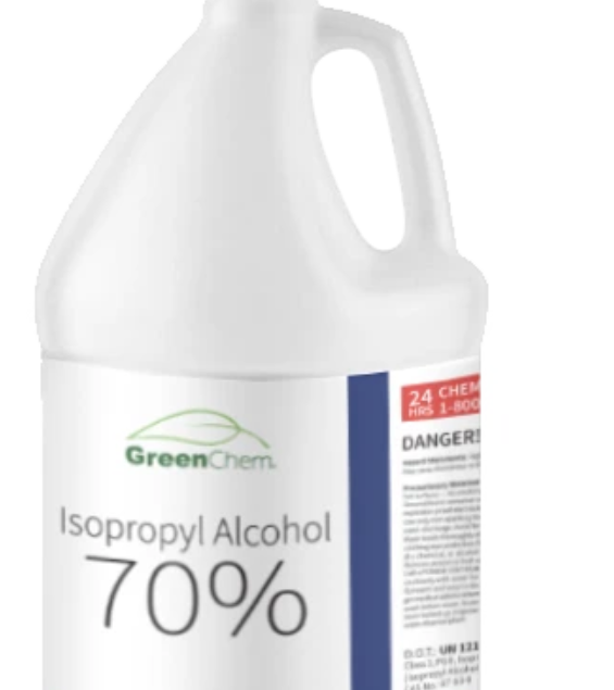 GreenChem Isopropyl Alcohol 70% (IPA) | Technical Grade Rubbing Alcohol