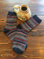 """Hand-Made"" Mt. Oso Merino & Angora Socks (5 Pack)"