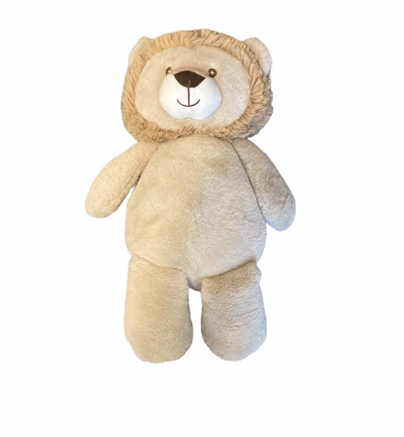 "18"" Cuddle Baby Lion w/ Rattle"