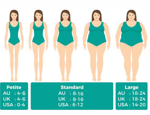 Belly Brace Size Guide Women