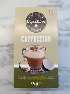 Cappuccino Topdrink Dolce Gusto Kapsler 16stk