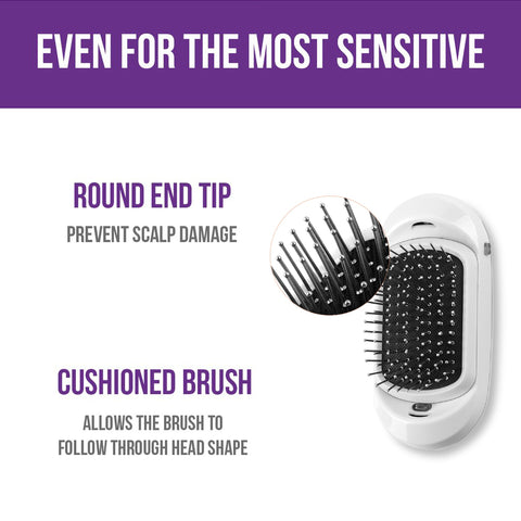 ionic breeze hair brush