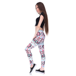 Slim High Waist  Leggings - Abundance Flows
