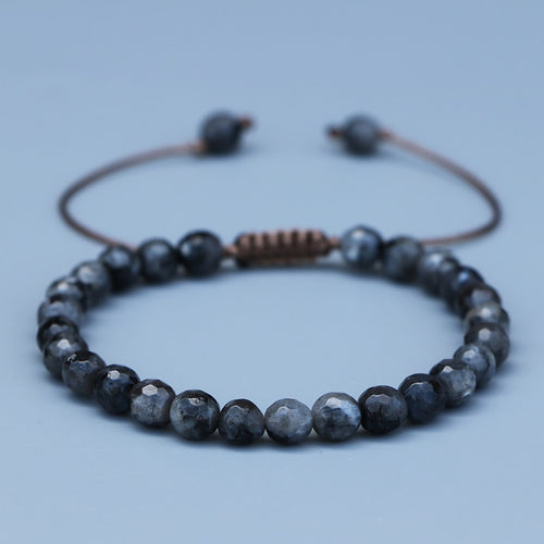 Natural Black Labradorite Bracelets - Abundance Flows