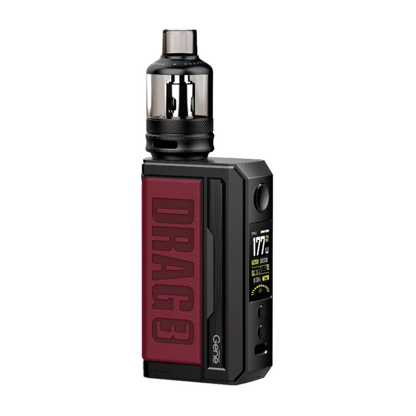 Voopoo Drag 3 Vape Kit Marsala Red