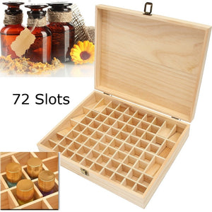 Large Wooden Essential Oil Storage Box