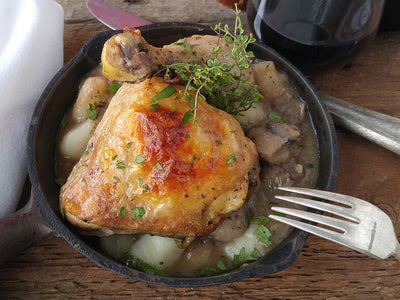 Coq au Vin Dinner Kit (aka Chicken in Red Wine Sauce)
