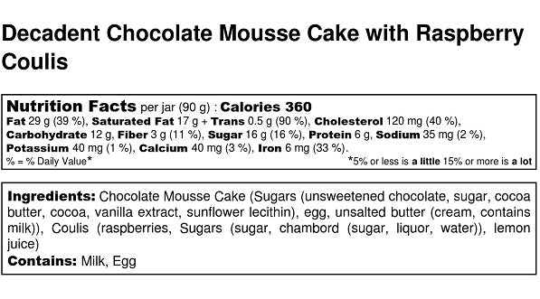 Decadent Chocolate Moussecake (Flourless)