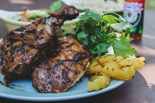 Grilled Huli Huli Chicken Dinner for 4-5