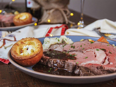 Holiday Black Angus Prime Rib Roast Dinner Kit