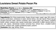 Louisiana Sweet Potato Pecan Pie