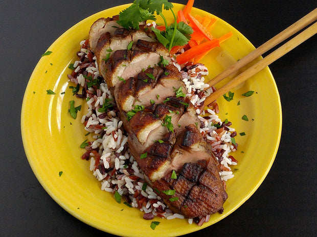 Grilled Asian 8-Spice Duck Breast