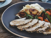 Country Herb Organic Chicken Breast Roast Dinner for Four