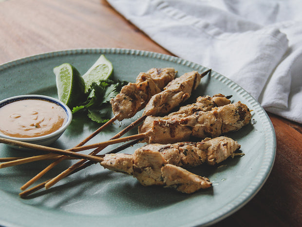 Thai Coconut Chicken Satays