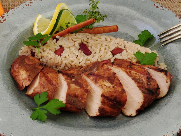 Grilled Jamaican Jerk Chicken Breast
