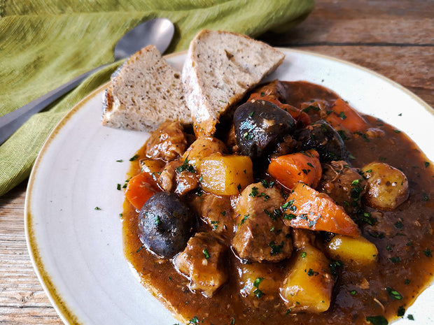 Canadian Irish Beef and Guinness Stew