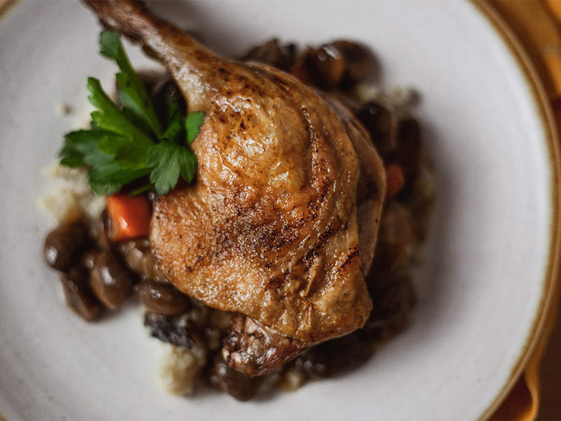 """Quack au Vin"" (aka Duck in Red Wine Sauce)"
