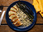 Asparagus-Chèvre Stuffed Chicken Breast