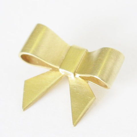 Bow in 14 Krt Gold
