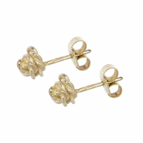 Earstuds 'Rose' in Gold