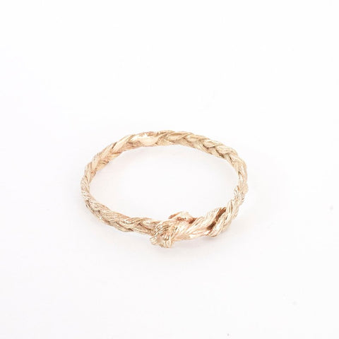Haarring 9 krt goud legering / Hair ring 9 krt Gold Alloy