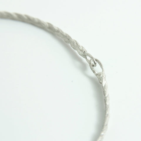 Braid Bracelet in silver or gold